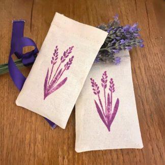 Product Hand Printed Lavander Bags