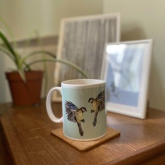 Product Ceramic Blue Tit Bird Mug
