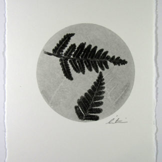 Product Fern Mono Print black and white