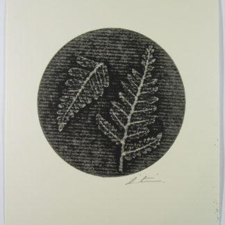 Product Fern Mono Print black and white