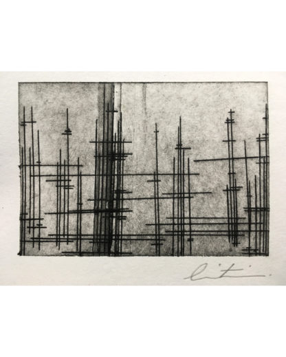 print product tetra pak intaglio original print on paper city